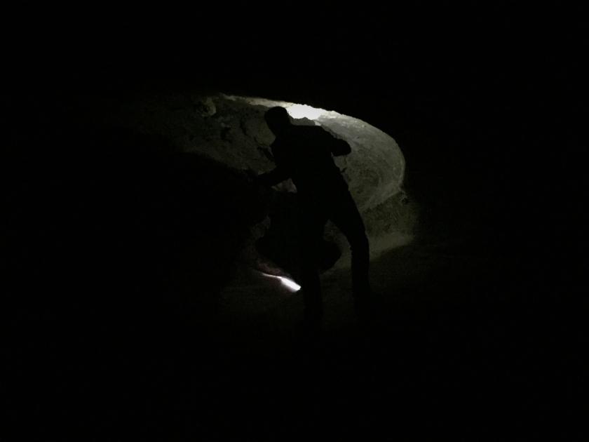 Travessia no escuro pelas Cavernas de Sal