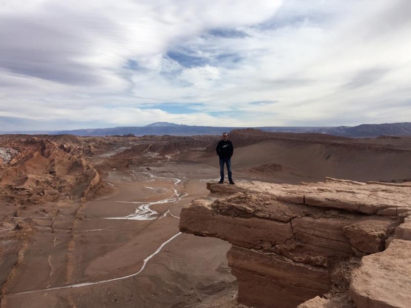 Roca del Coyote com Valle de la Muerte ao fundo