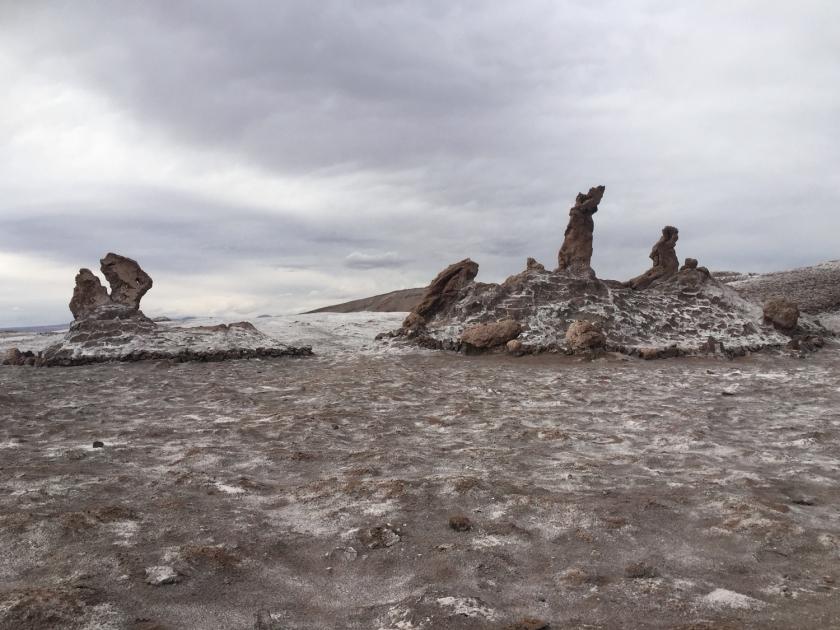 Formações naturais denominadas Tres Marias