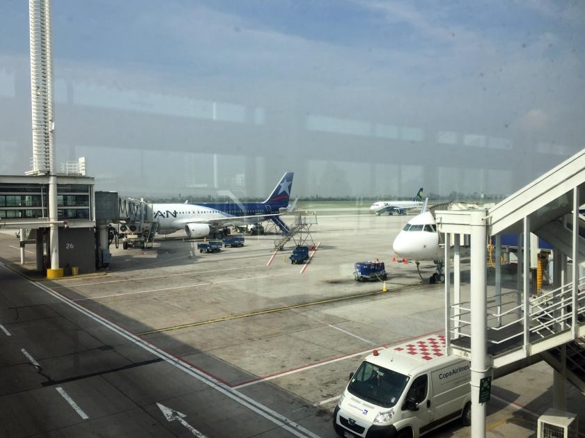 Avião de Santiago para Calama
