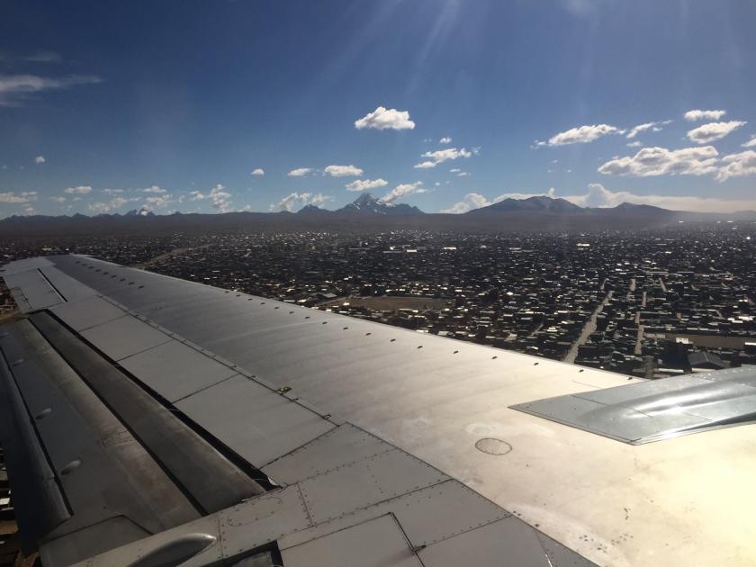 Chegada em La Paz
