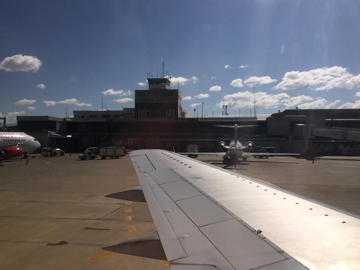 La Paz Aeropuerto Internacional El Alto Viajento