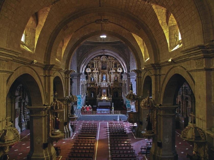 Interior da igreja | Autor: desconhecido