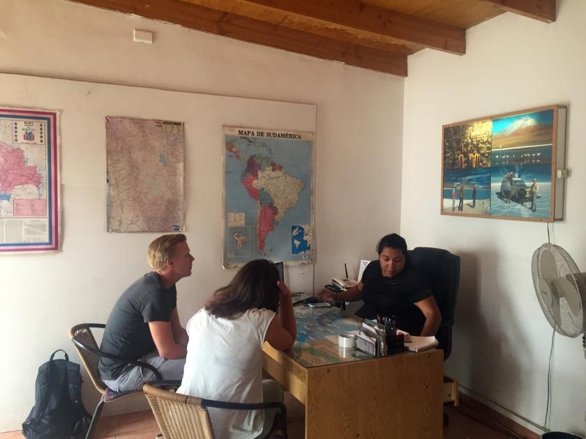 Agência da Cordillera Traveller em San Pedro de Atacama