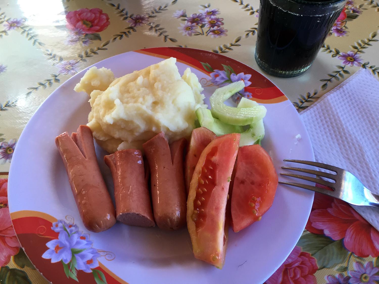 Salada do jantar