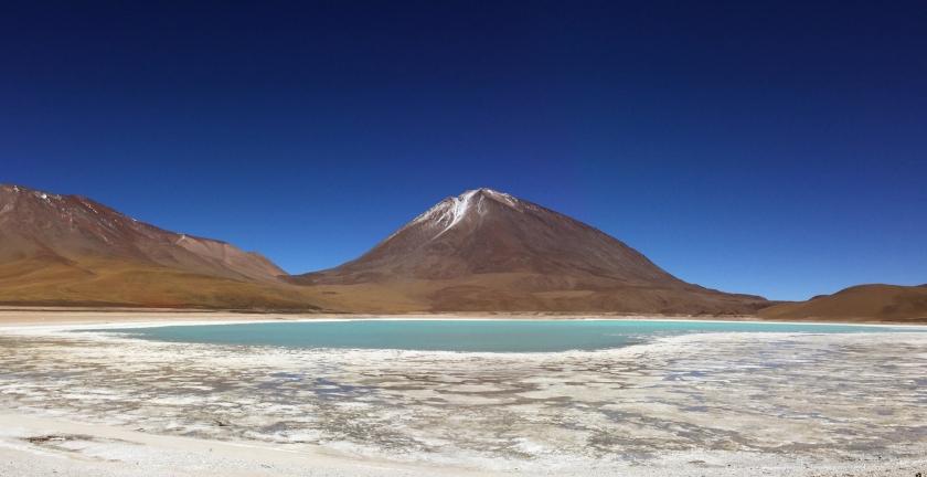 Laguna Verde e Vulcán Licancabur