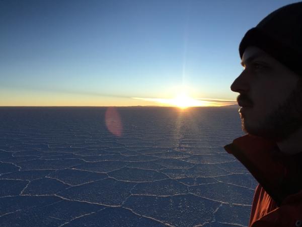 Apreciando o nascer do sol