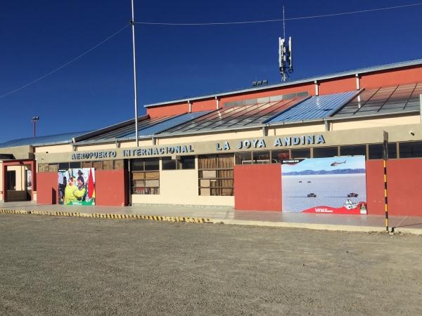 Aeropuerto Internacional La Joya Andina