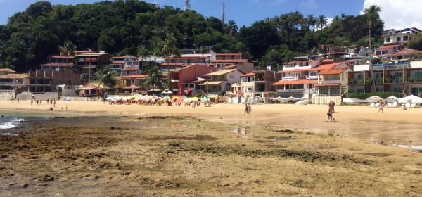 Casas particulares dominam a Primeira Praia