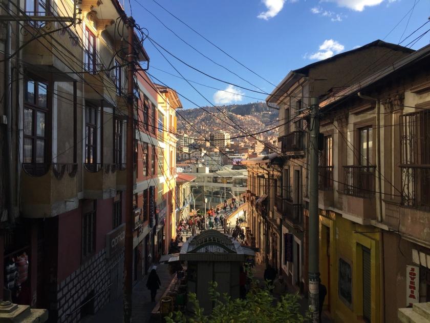 Quarteirão fechada da Calle Pichincha