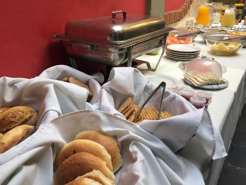 Café da manhã do Casa de Piedra