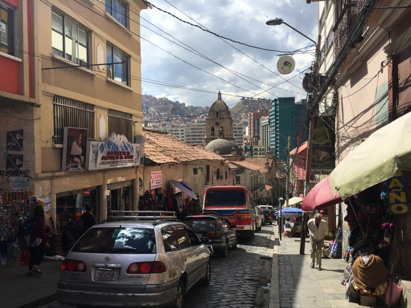 Centro histórico de La Paz