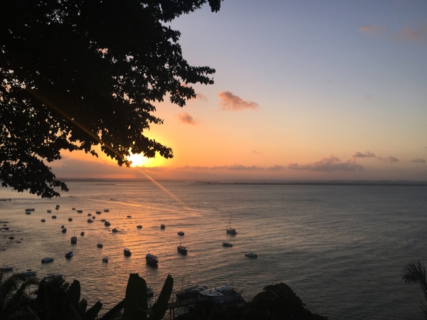 Pôr-do-sol na Toca do Morcego