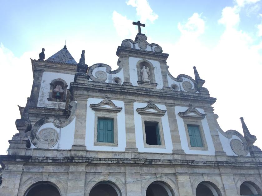 Fachada do Convento e Igreja de Santo Antônio
