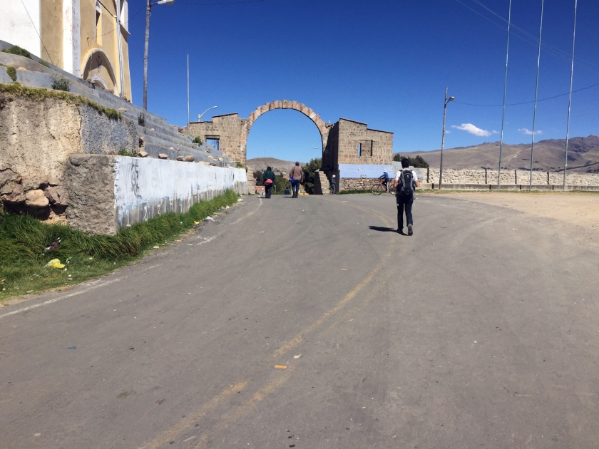 Fronteira entre Peru e Bolívia