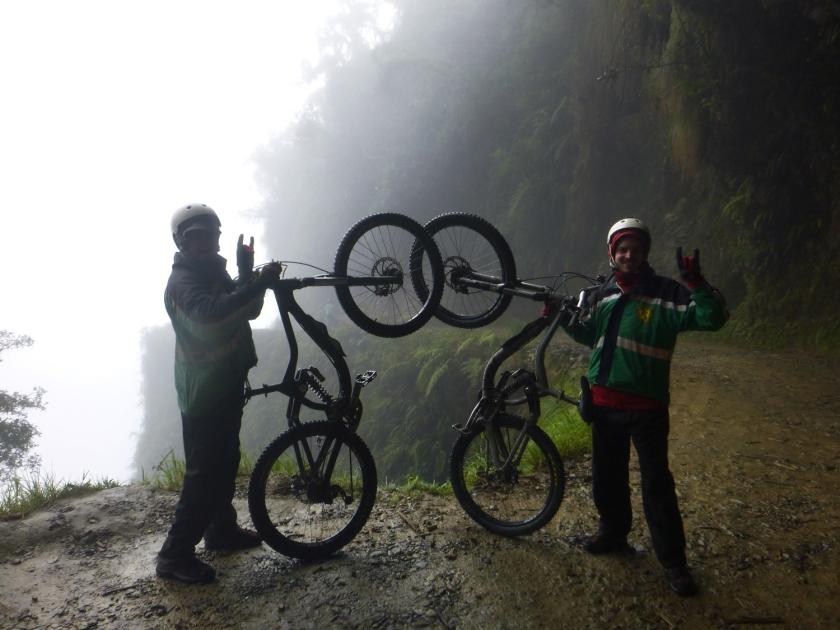 Pose com as bicicletas