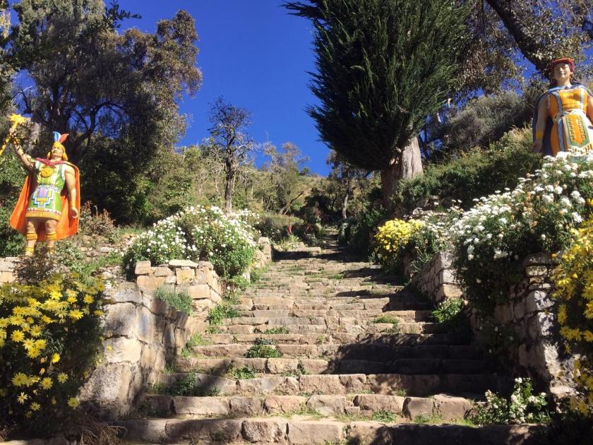Escalera Inca