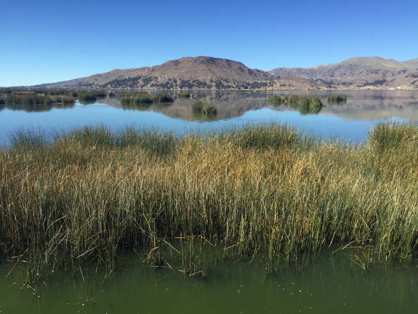 Lago Titicaca próximo a Puno