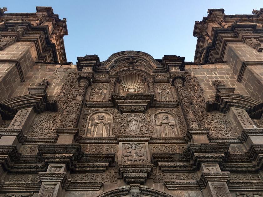 Fachada da Catedral Basilica Menor de Puno