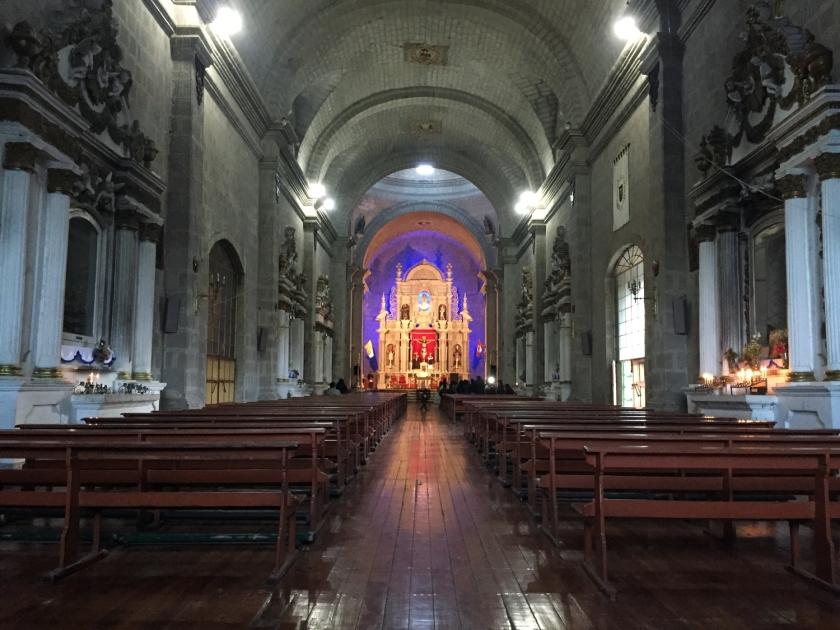 Interior da Catedral Basilica Menor de Puno
