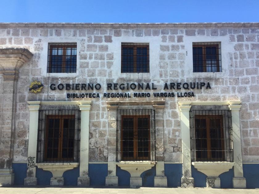 Biblioteca Regional Mario Vargas Llosa