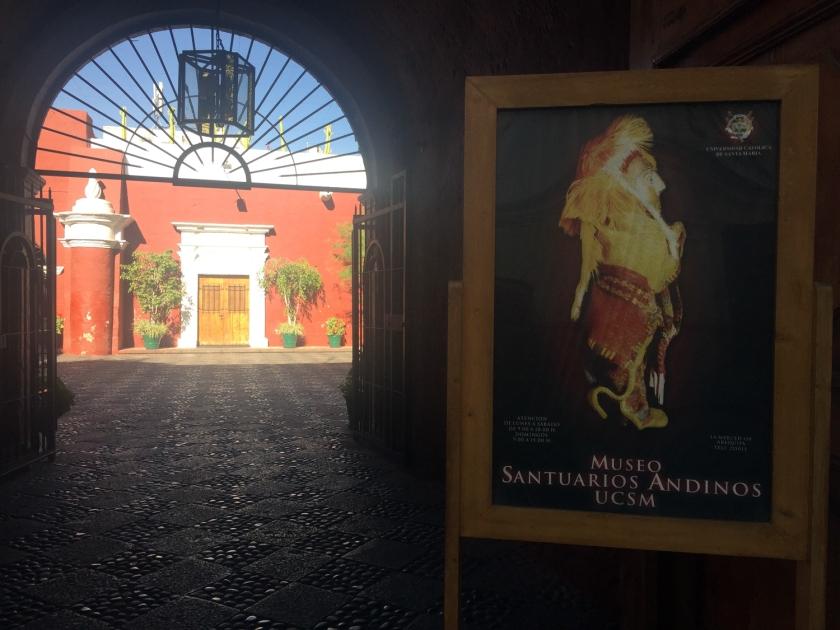 Entrada do Museo Santuarios Andinos
