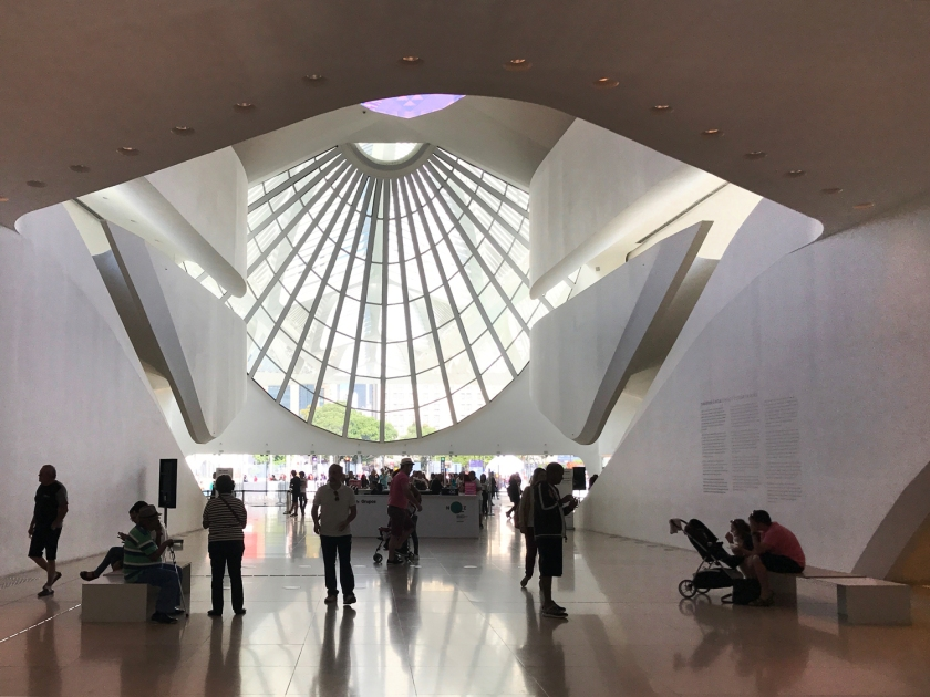 Arquitetura do Museu do Amanhã