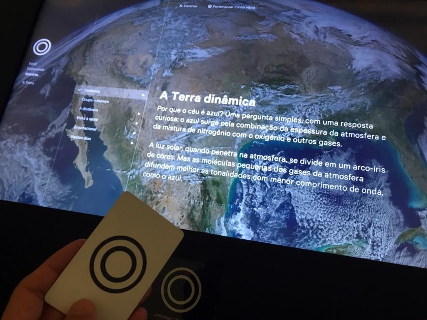Cartão para interatividade