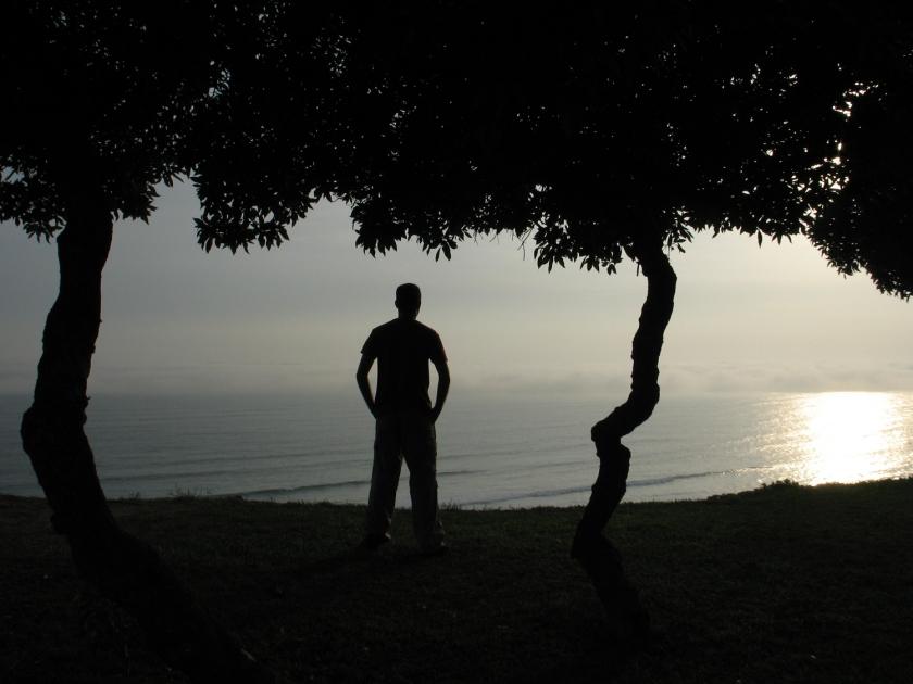 Oceano Pacífico visto de Miraflores