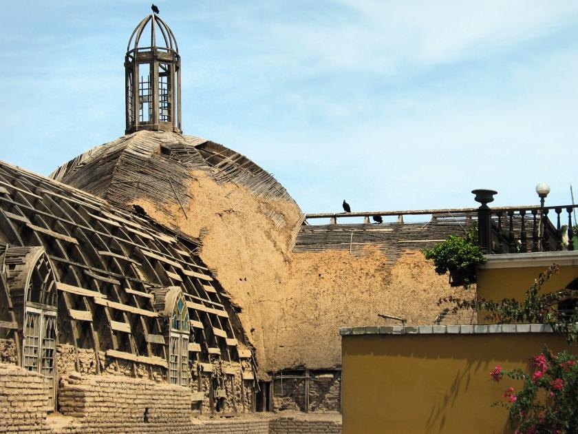 Teto da Iglesia La Ermita