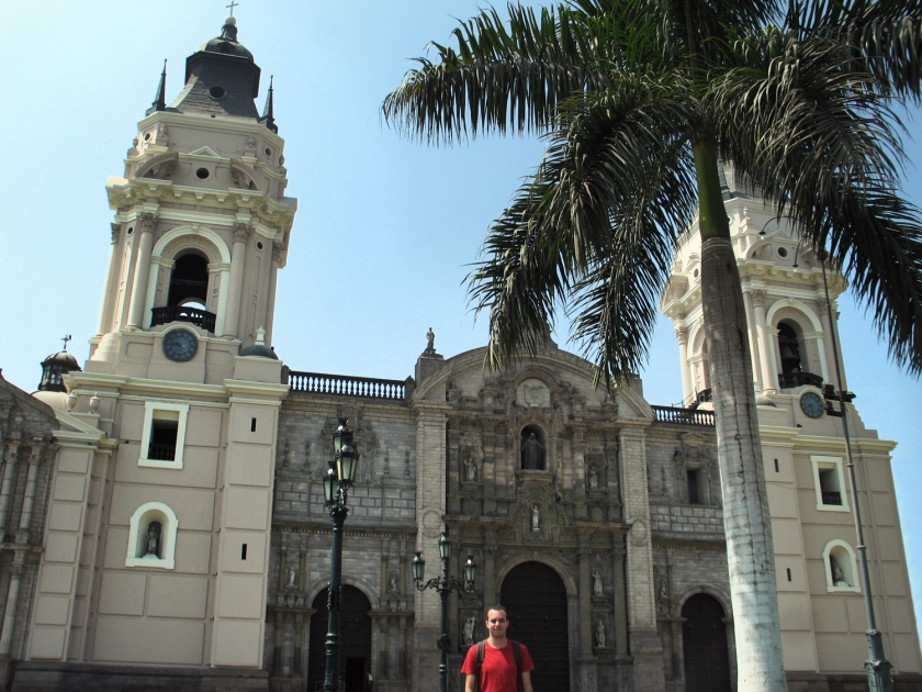 Fachada da Catedral de Lima