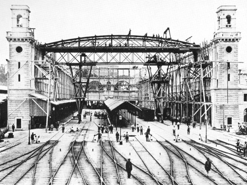 Construção em 1871