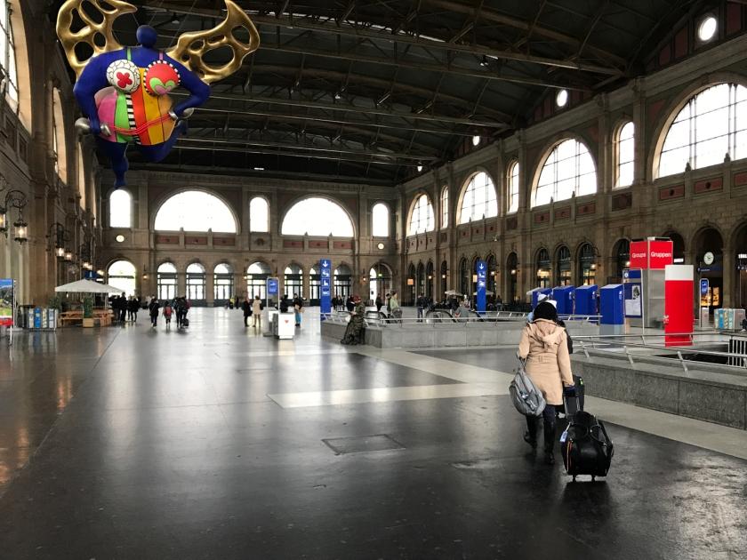 Saguão da estação central