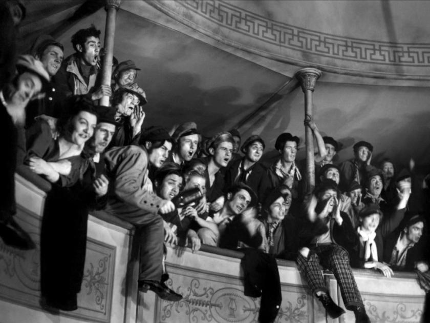 Público do teatro
