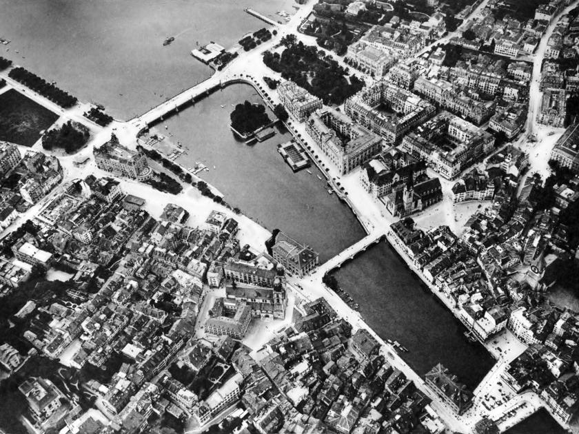 Bükliplatz entre 1896 e 1910
