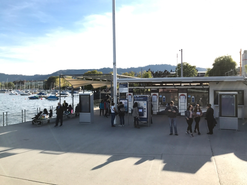 Bilheteria da Companhia de Transporte do Lago Zurique