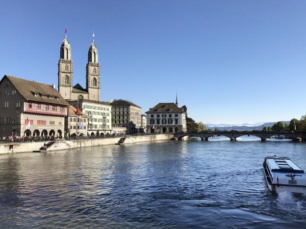 Vista da Rathausbrücke