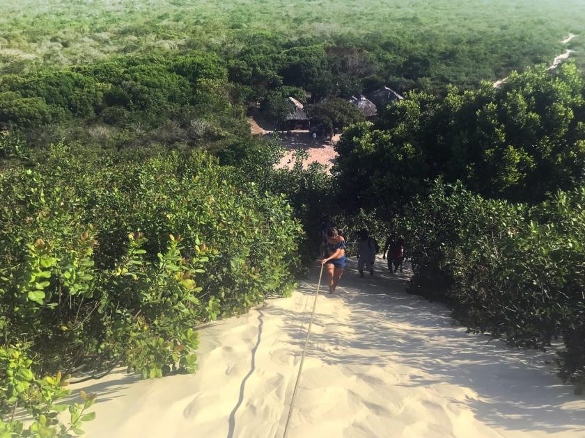 Subida da duna