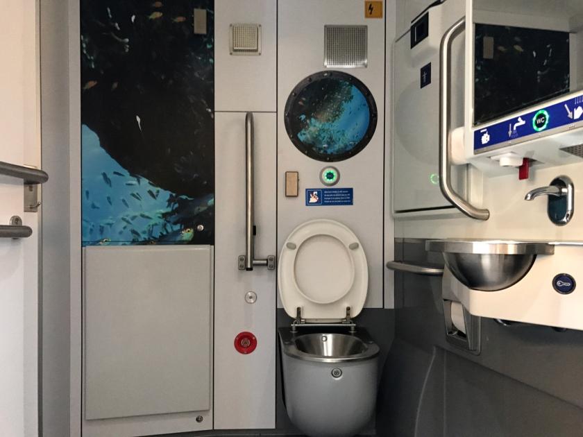Banheiro do trem