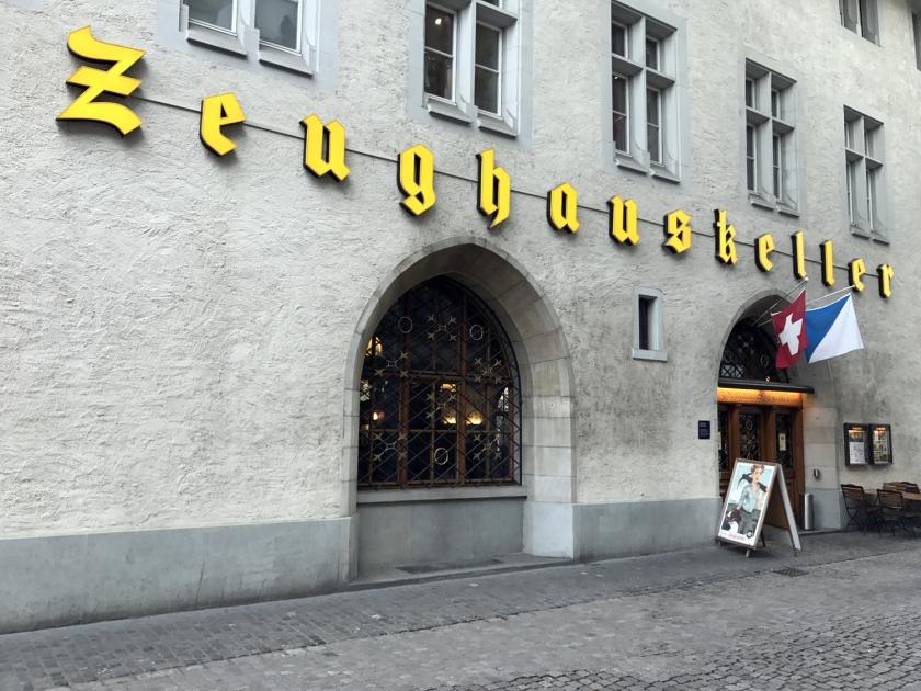 Restaurante Zeughauskeller