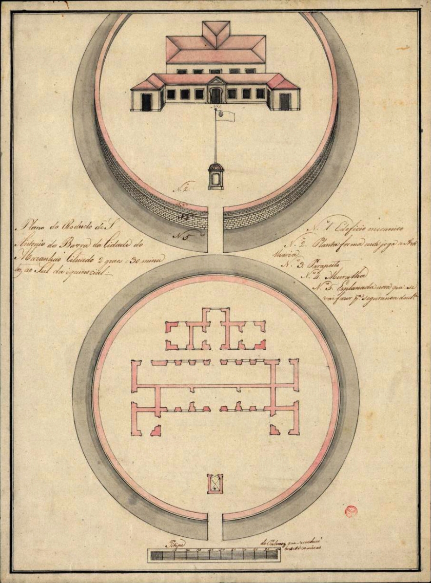 Planta de 1750