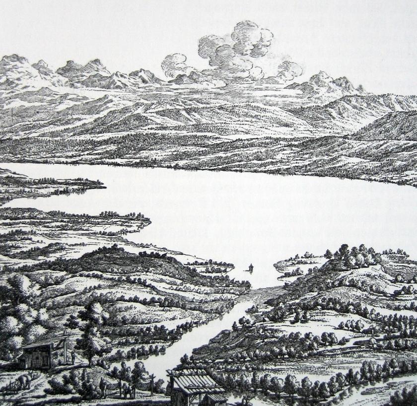 Representação da região nos tempos romanos