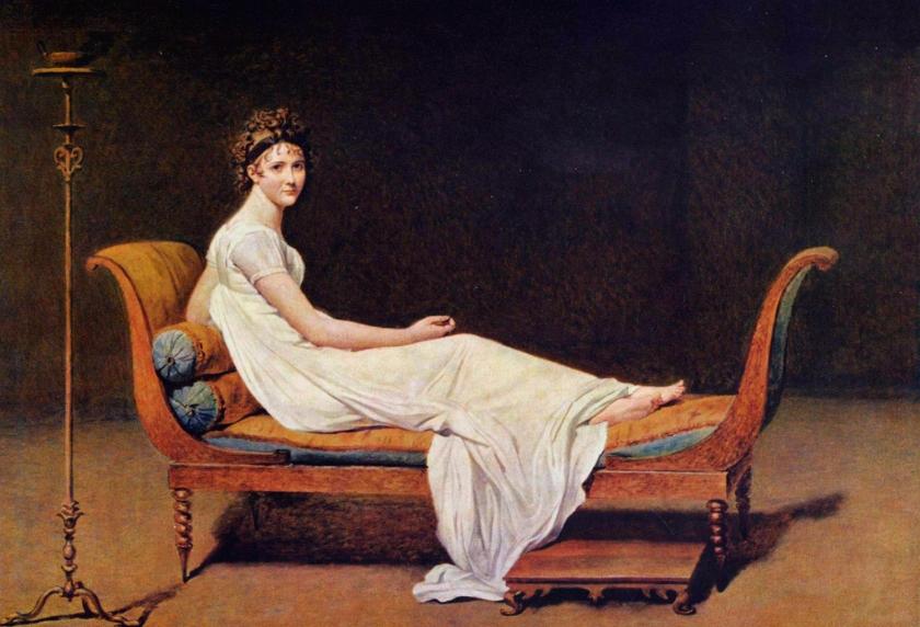 Portrait de Madame Récamier