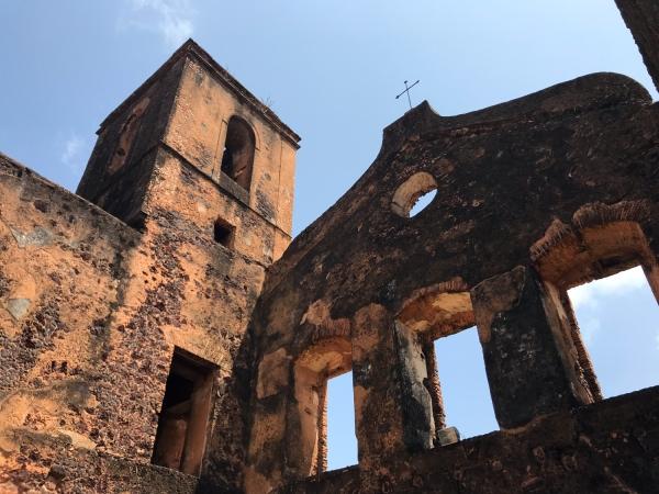 Ruínas no centro histórico