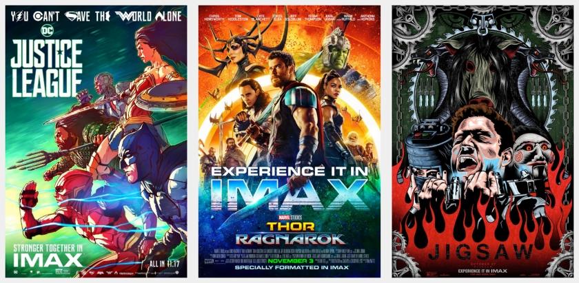 Os filmes são grandes produções