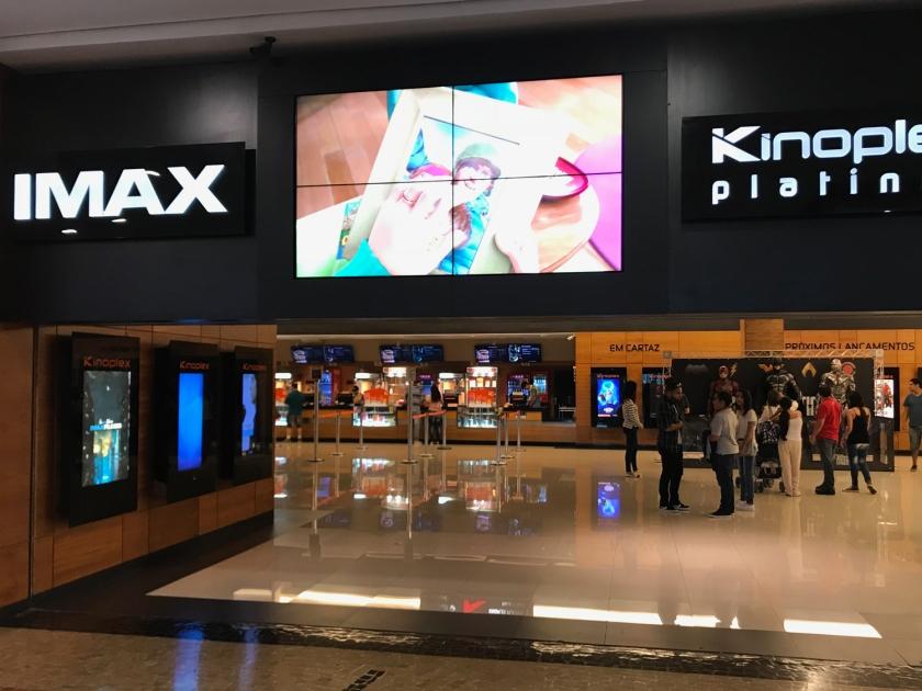 IMAX do Kinoplex Platinum de Campinas