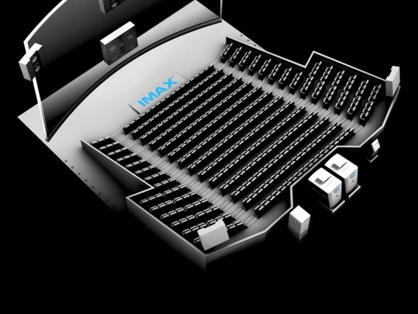 Projeto de uma sala de cinema IMAX