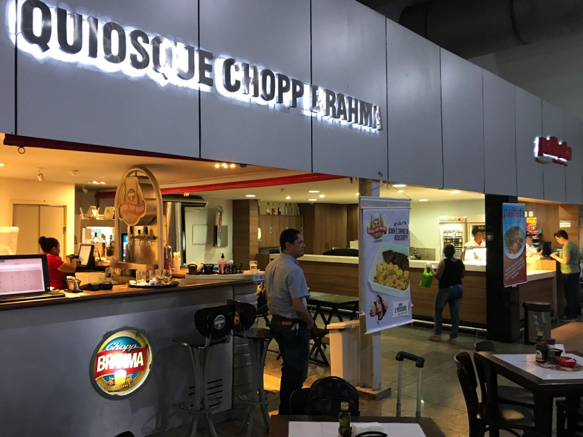 Restaurantes do aeroporto