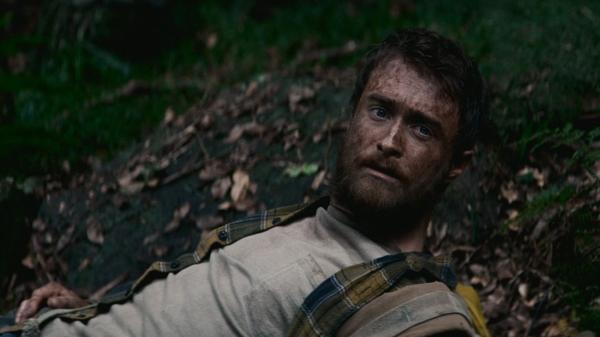 """Daniel Radcliffe em cena do filme """"Selva"""""""