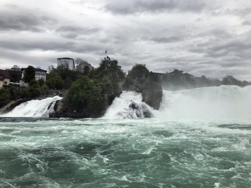 Rheinfall-Felsen